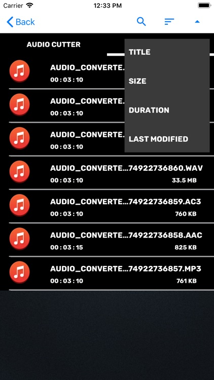 Audio Cutter Converter Merger screenshot-4