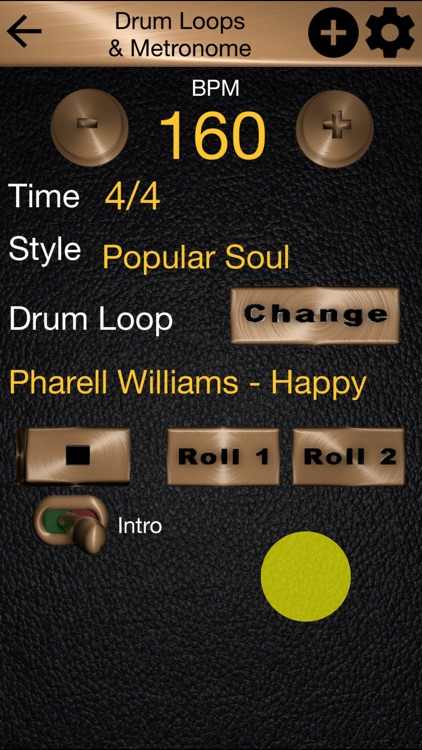 Drum Loops & Metronome Pro screenshot-1