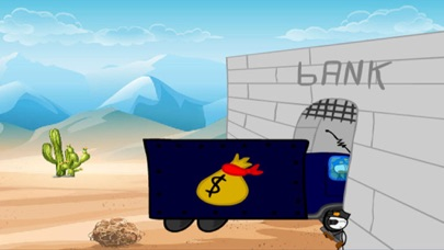 Break Into The Bank - Stickman screenshot two