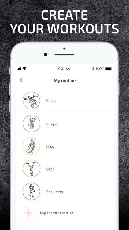 Weight Lifting Gym Tracker screenshot-3