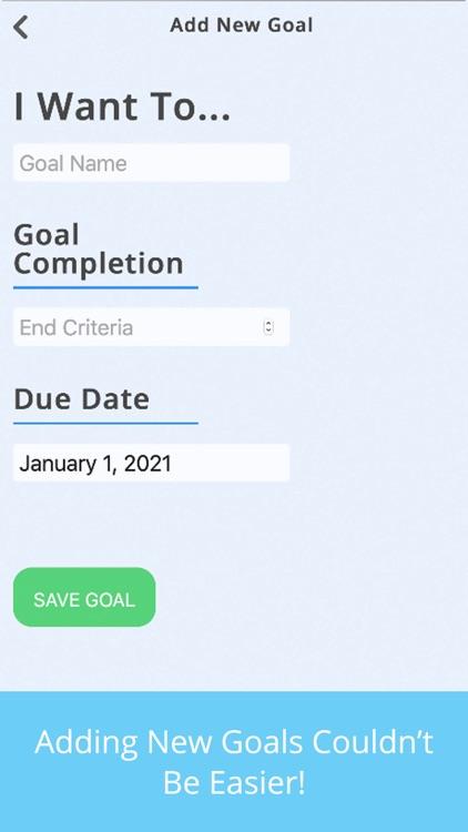 Simple Goals Tracker
