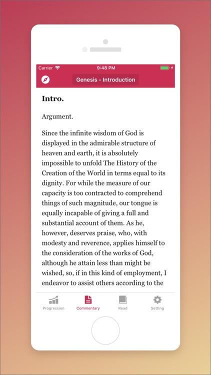 John Calvin Commentary screenshot-3