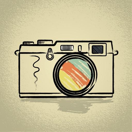 Comic Sketch Camera iOS App