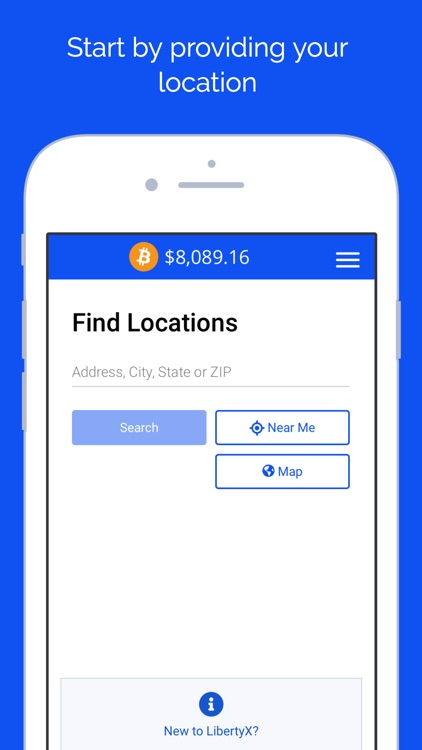LibertyX - Buy Bitcoin