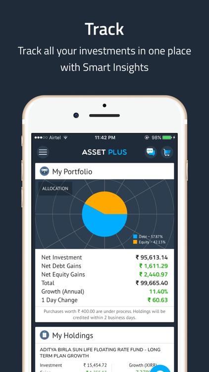 AssetPlus - Mutual Funds & SIP screenshot-5