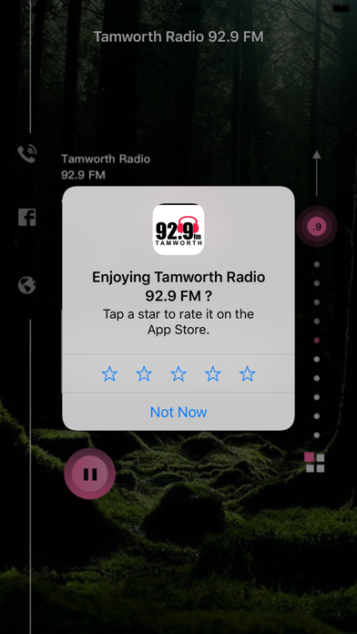 Tamworth Radio 92.9 FM screenshot 6