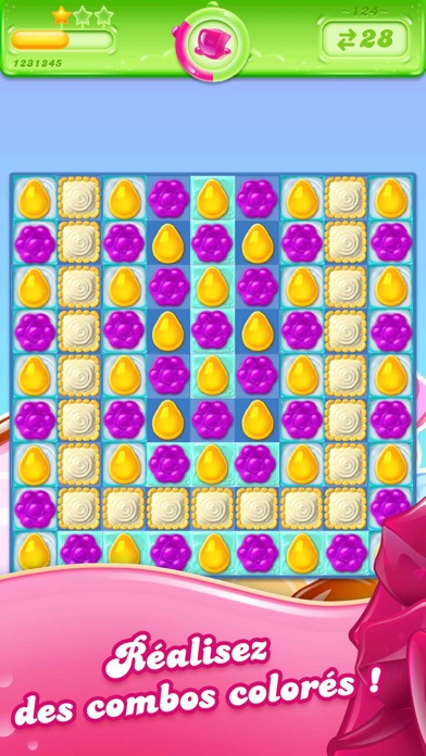 Veuillez noter: Candy Crush Saga est complètement libre de jouer, mais certains éléments de jeu tels que des mouvements supplémentaires ou de la vie en exiger le paiement. Vous pouvez désactiver la fonction de paiement par désactiver les achats in-app dans les...