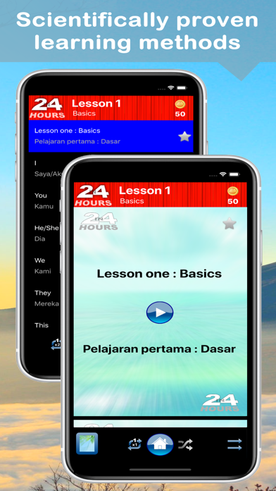 In 24 Hours Learn Indonesian screenshot two