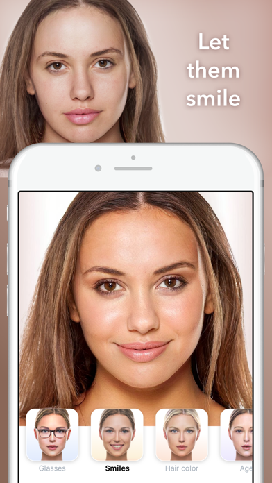FaceApp - AI Face Editor Screenshot