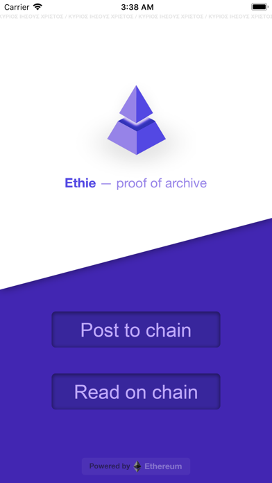 Ethie - Proof of Archive