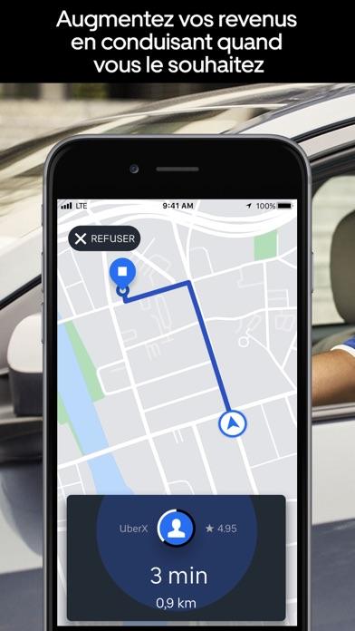 Screenshot #1 pour Uber Driver - pour chauffeurs