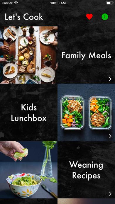 Recipes - Kids & Toddlers Screenshots