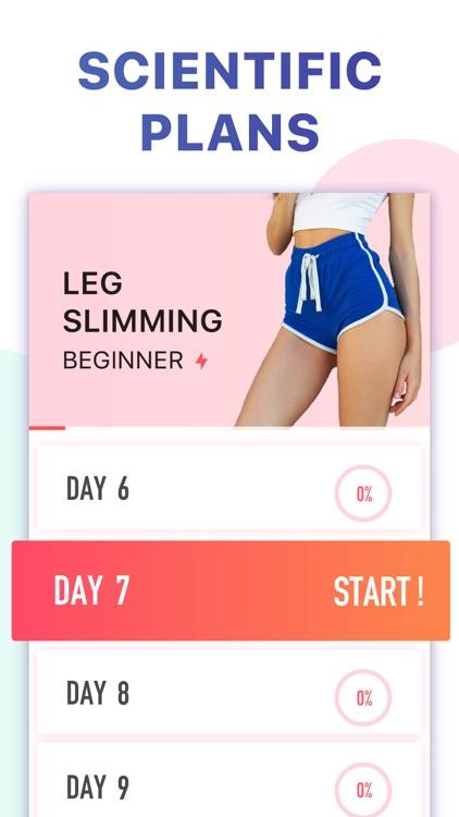 Female Fitness - Leg Workouts screenshot-4