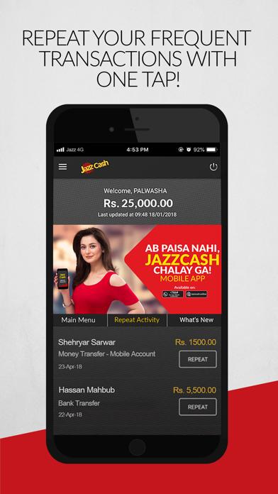 Screenshot for JazzCash in Turkey App Store