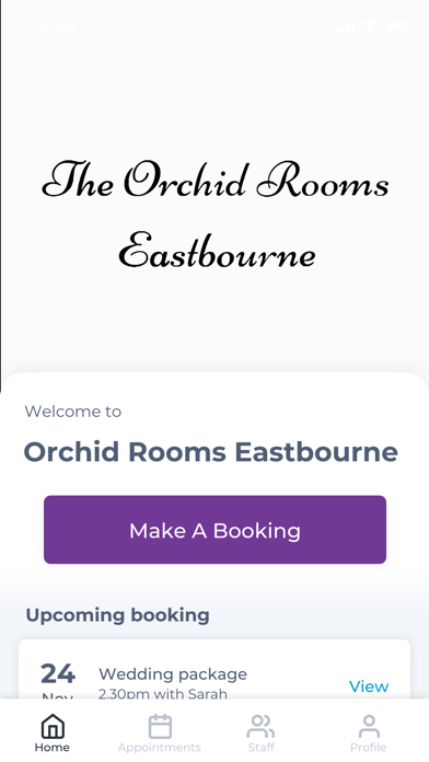 Orchid Rooms Eastbourne screenshot one