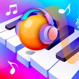 彩色钢琴球球-单机音乐节奏游戏