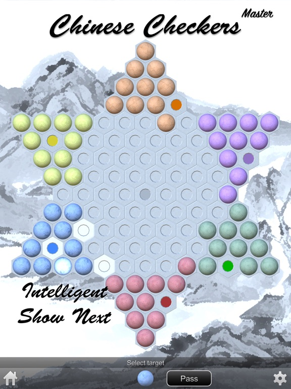 Screenshot #6 pour Chinese Checkers Master