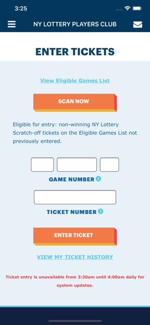 NY Lottery Players Club on the App Store