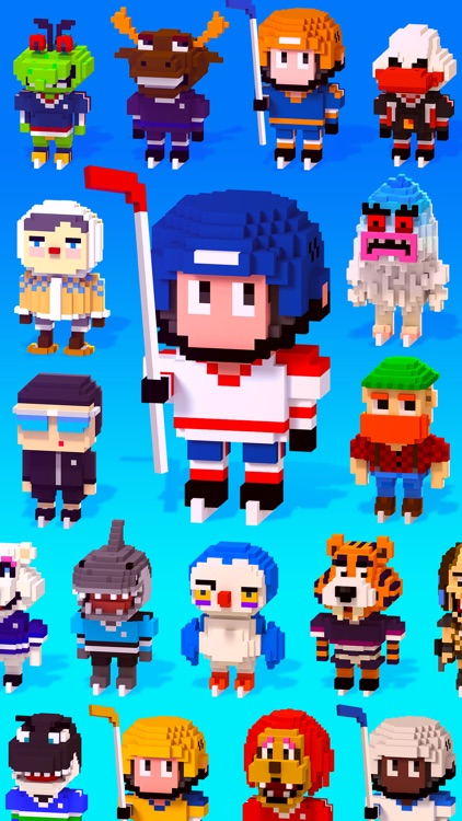 Blocky Hockey screenshot-4