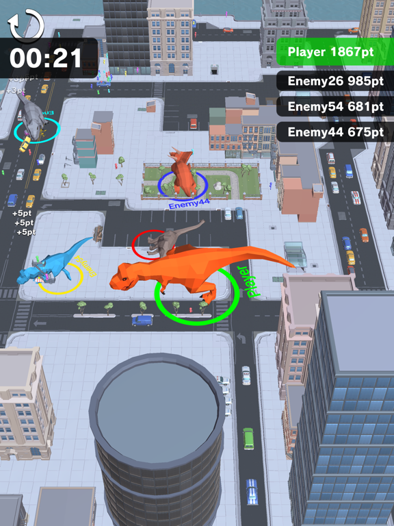 Dinosaur Rampage screenshot 12