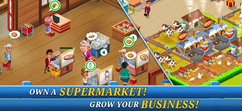 Supermarket City : Farm Tycoon Cheat Codes