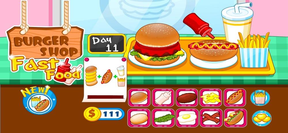 Burger shop fast food Cheat Codes