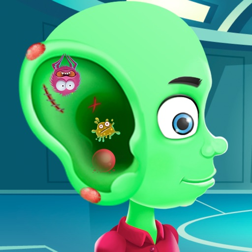 Alien Ear Doctor Game iOS App