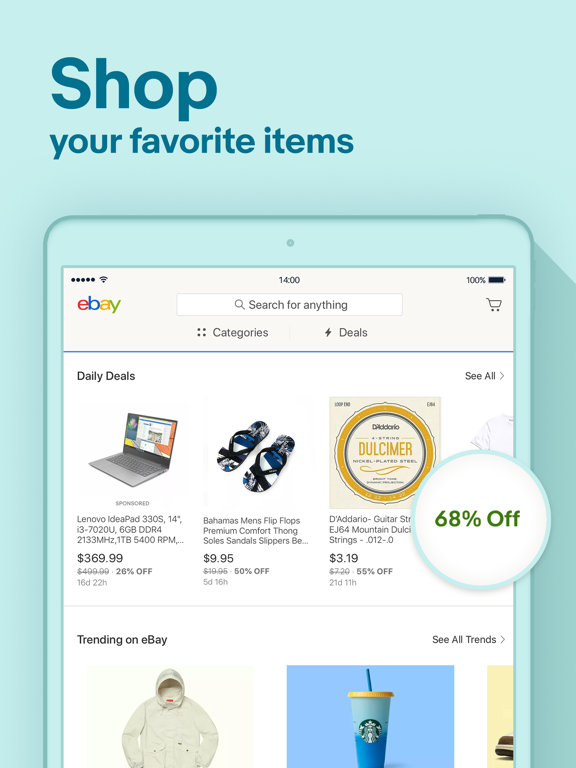 eBay screenshot