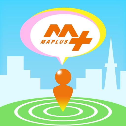 MAPLUSキャラdeナビ 地図・ナビ・渋滞情報