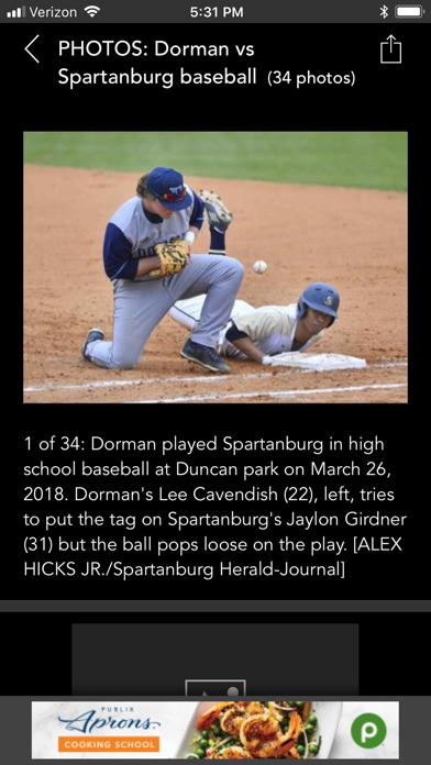 Spartanburg Herald-Journal Screenshot