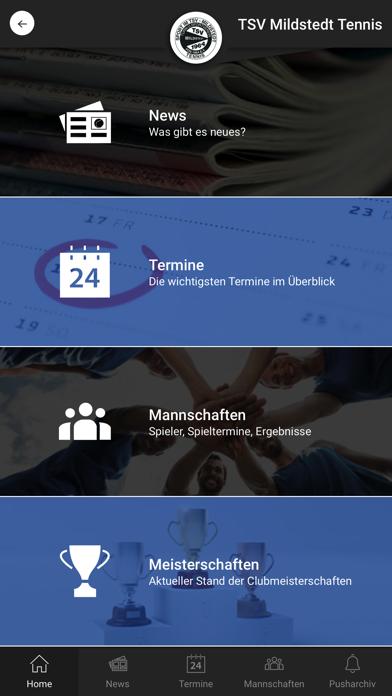 TSV Mildstedt TennisScreenshot von 1