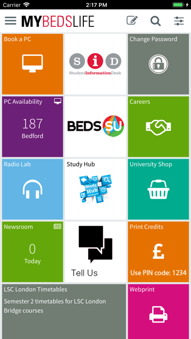 Uni of Beds - MyBedsLife screenshot 2