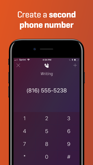 Burner - 2nd Phone Number Screenshot