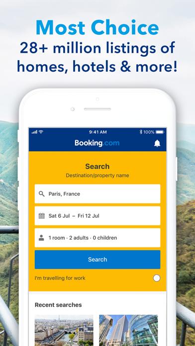 Screenshot for Booking.com Travel Deals in Czech Republic App Store