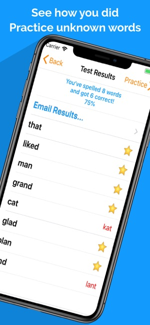 Spelling Notebook: Learn, Test on the App Store