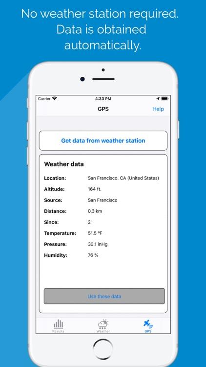 Air Density & RAD meter PRO