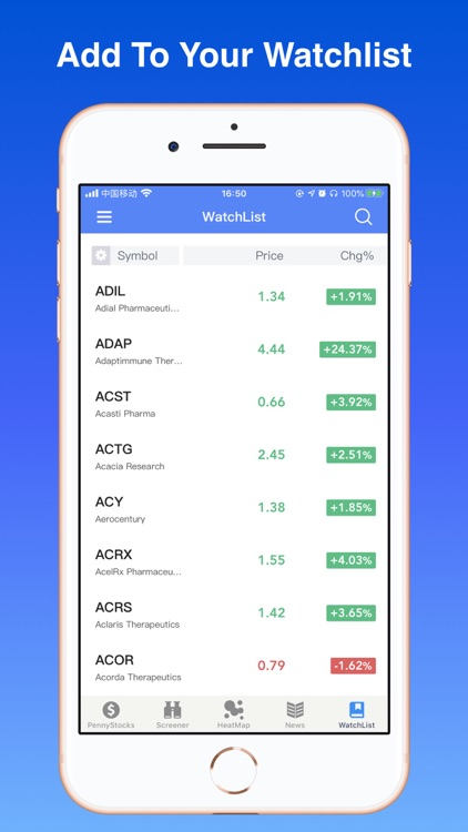 Penny Stocks Pro - screener screenshot-6