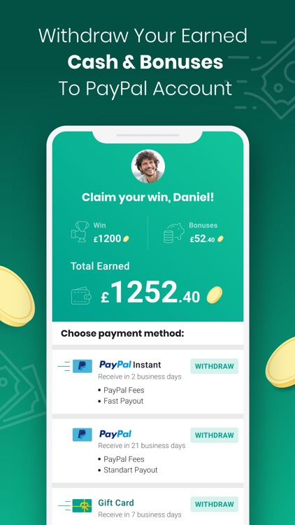 Boom25: Cashback & Giveaways screenshot-0