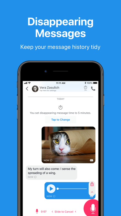 Signal - Private Messenger by Quiet Riddle Ventures LLC (iOS