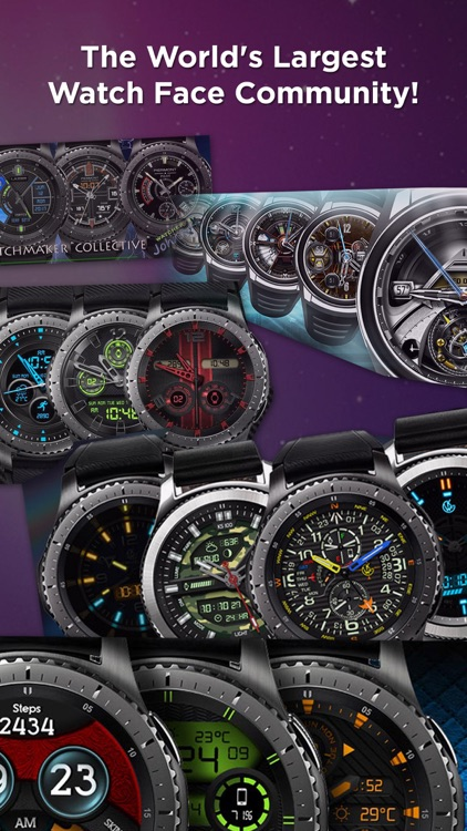 Watch Faces 100,000 WatchMaker screenshot-6
