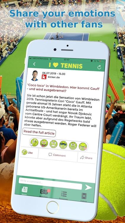 Sports News Tennis edition screenshot-3