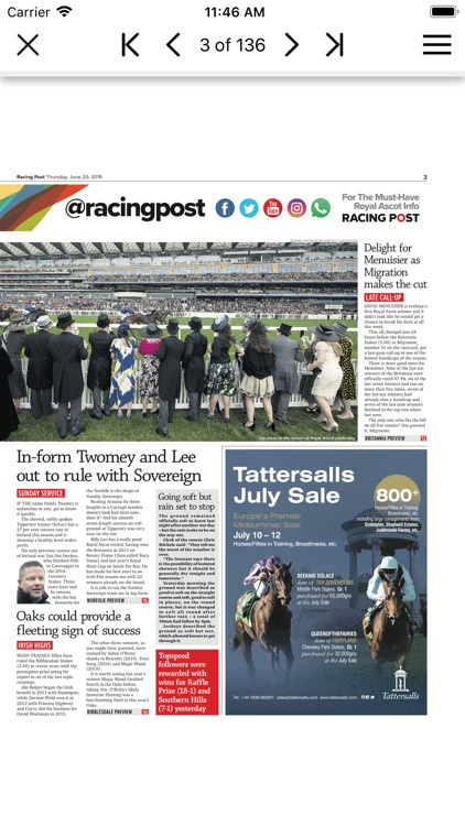 Racing Post Newspaper screenshot-3