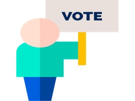 Sticker VotingElectionsKi is 40 Stickers with content Voting Elections designs with high quality and clarity