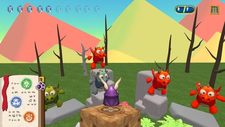 Magic Rabbit vs Dragons screenshot-3
