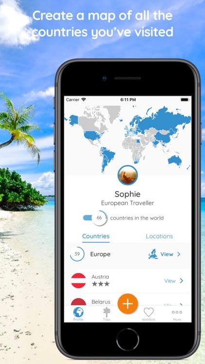 Memento - Map Your Travels screenshot-0