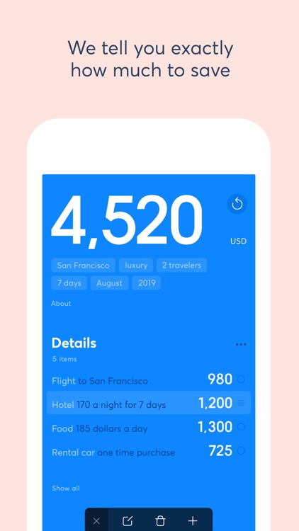 Savely - Calculate Your Trip screenshot-4
