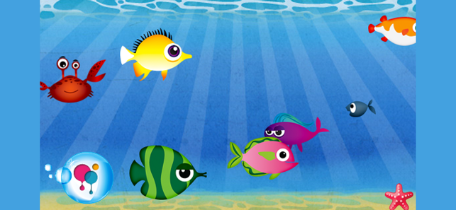 ‎Fish School - 123 ABC for Kids Screenshot