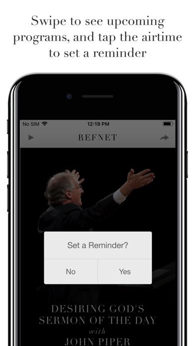 RefNet Christian Radio screenshot four