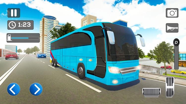 Simple City Coach Bus Driving screenshot-7