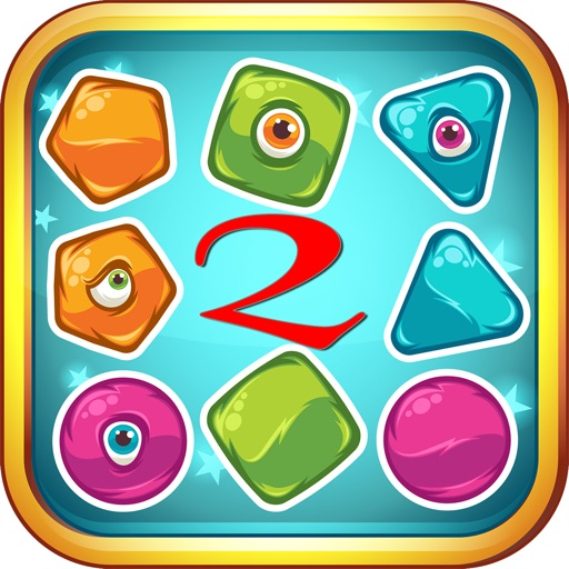Smart kids game shape matching